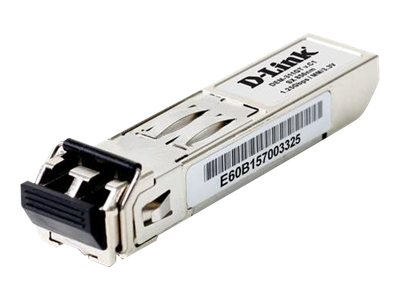 D-Link DEM 311GT - SFP (Mini-GBIC)-Transceiver-Modul - Gigabit Ethernet - 1000Base-SX - LC Multi-Mode - bis zu 550 m