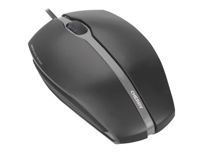 CHERRY GENTIX SILENT Mouse optical 3 buttons wired USB black