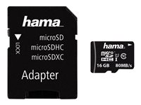 Hama - Carte mémoire flash (adaptateur SD inclus(e))