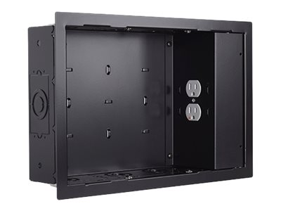 Chief In-Wall Storage Box PAC525FBP2 Storage box for audio/video components black