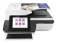 HP ScanJet Enterprise Flow N9120 fn2 Flatbed Scanner - Scanner de documents - Recto-verso - 297 x 864 mm - 600 ppp x 600 ppp - jusqu'à 120 ppm (mono) / jusqu'à 120 ppm (couleur) - Chargeur automatique de documents (200 feuilles) - jusqu'à 12000 pages par jour - USB 2.0, Gigabit LAN, USB 2.0 (Host)
