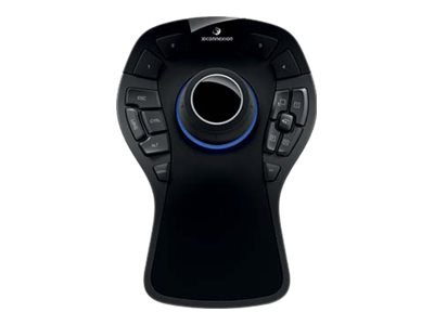 Fujitsu SpaceMouse Pro 3D motion controller 15 buttons wired USB