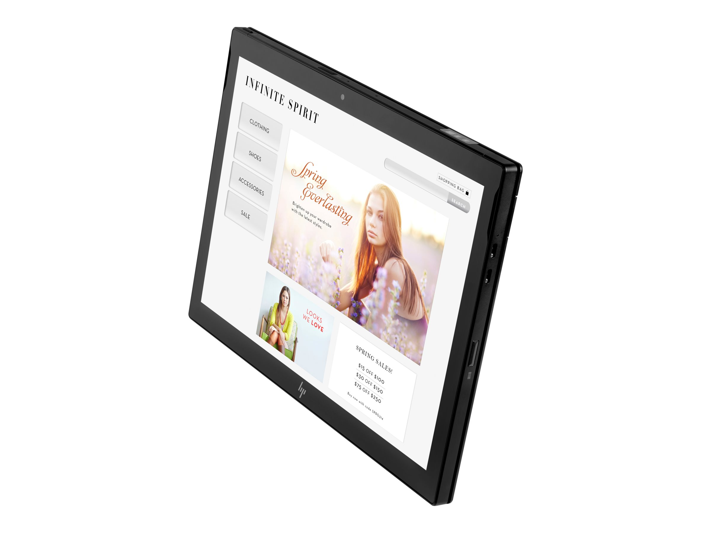 HP Engage Go Mobile - Tablet - Core i5 7Y57 / 1.2 GHz - vPro - Win 10 Pro 64-Bit - 8 GB RAM