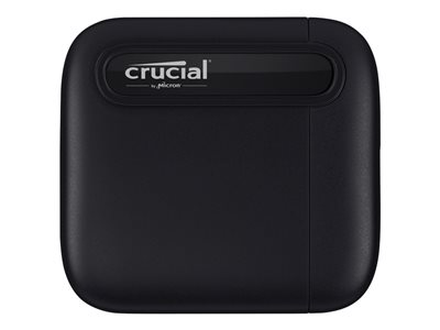Crucial X6 Solid state drive 2 TB external (portable) USB 3.1 Gen 2 (USB-C connector)