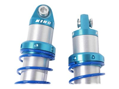 - King Off-Road Dual Spring Shocks for Axial Yeti Front