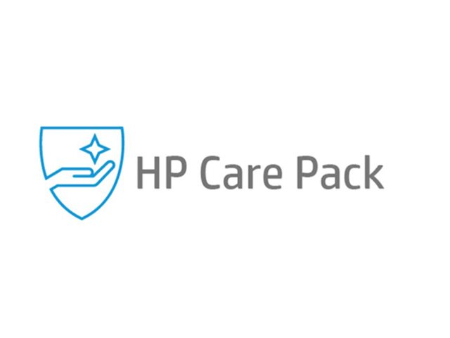 Image of Electronic HP Care Pack Next Business Day Channel Remote and Parts Exchange Service Post Warranty - extended service agreement - 1 year - shipment