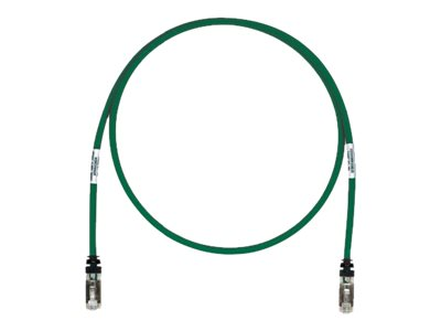 Panduit TX6A 10Gig patch cable - 50.3 m - green