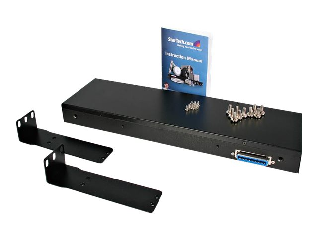 """StarTech.com LCD Console with 16 Port KVM Switch Integrated - KVM console - 17"""""""