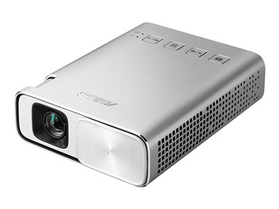 ASUS ZenBeam E1 DLP projector RGB LED 150 lumens WVGA (854 x 480) 16:9 silver image