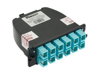 Panduit QuickNet pre-terminated fiber optic cassette