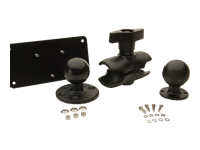 Honeywell - Mounting kit (base plate, Ram ball, mounting arm, Ram mount) for vehicle mount computer docking station - in-car - for Thor VM1, VM2