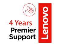 Lenovo On-Site + Premier Support Extended service agreement parts and labor 4 years  image