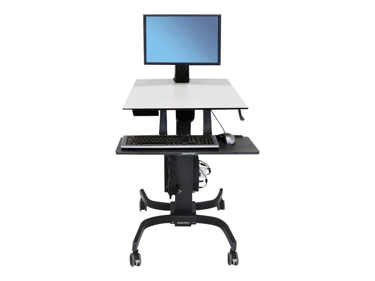 Ergotron WorkFit-C Single LD Sit-Stand Workstation - sit/standing desk