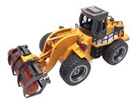 AMEWI - Wheel loader with wooden grabs