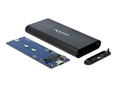 Delock External Enclosure for M.2 NVMe PCIe SSD with SuperSpeed USB 10 Gbps (USB 3.1 Gen 2) USB Type-C™ female