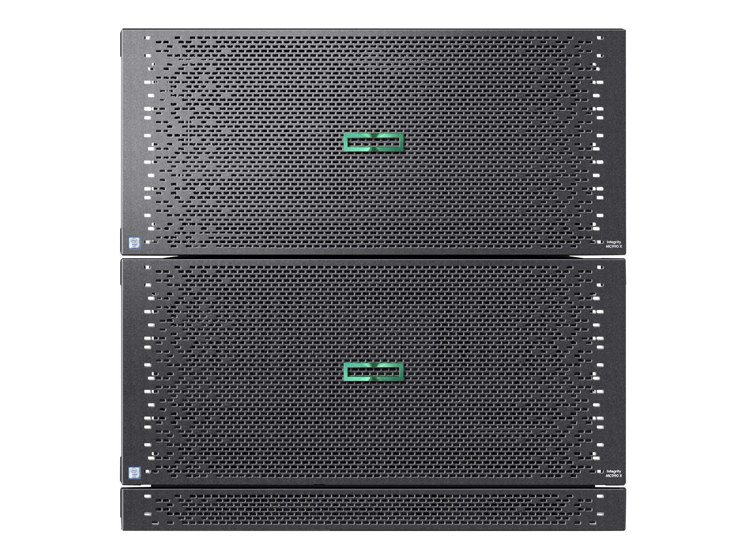 HPE Integrity MC990 X Base - rack-mountable - Xeon E7-8891V4 2.8 GHz - 0 GB - with HPE 1U Rack Management Controller