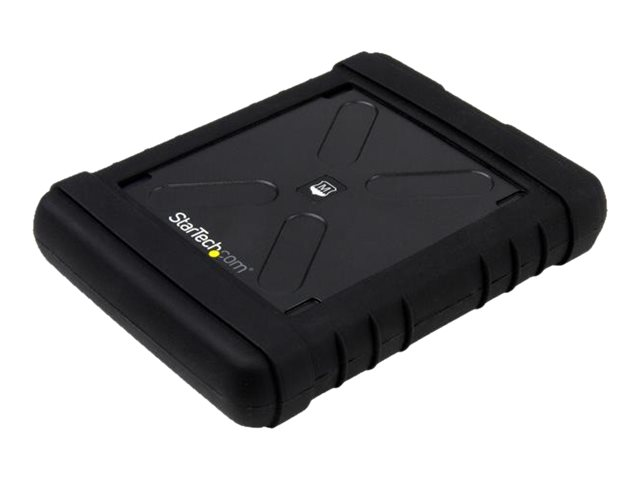 Image of StarTech.com Rugged Hard Drive Enclosure - USB 3.0 to 2.5in SATA 6Gbps - storage enclosure - SATA 6Gb/s - SATA 6Gb/s, USB 3.0