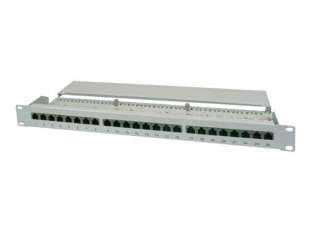 DIGITUS Professional DN-91616S - Patch Panel - RJ-45 X 16 - Grau - 1U - 19