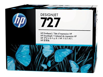HP 727 - gray, yellow, cyan, magenta, matte black, photo black - printhead