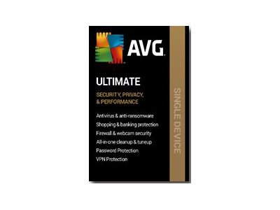 AVG Ultimate 2020 Subscription license (1 year) 1 PC ESD Win, Mac, Androi