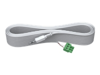 VISION Techconnect 2 - Audio cable - mini jack (M) - 5 m - white - molded