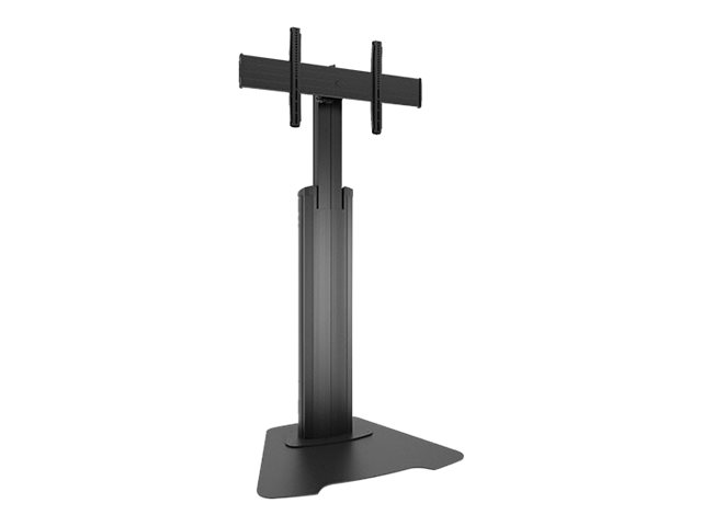 Chief Large FUSION Manual Height Adjustable Floor Stand - stand - for flat panel