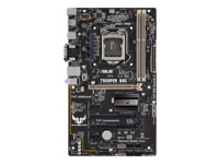 ASUS TROOPER B85 - Motherboard - ATX - LGA1150 Socket - B85 - USB 3.0 - Gigabit LAN - onboard graphics (CPU required) - HD Audio (8-channel)