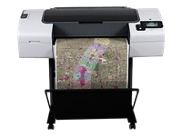 "HP DesignJet T790ps ePrinter - 24"" large-format printer - colour - ink-jet - Roll ARCH D (60.96 cm x 91 m) - 2400 x 1200 dpi - up to 1.2 ppm (mono) / up to 1.2 ppm (colour) - USB, LAN"