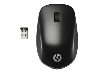 HP Ultra Mobile Mouse right and left-handed 3 buttons wireless 2.4 GHz