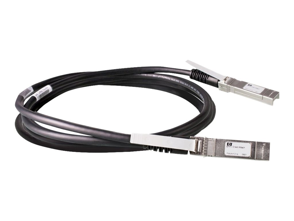 HPE X240 Direct Attach Cable - Netzwerkkabel - SFP+ bis SFP+ - 5 m - für HPE 5500, 59XX, 75XX; FlexFabric 1.92; Modular Smart Array 1040; SimpliVity 380 Gen9