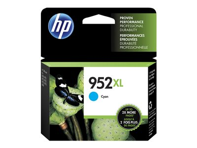 HP 952XL 20 ml High Yield cyan original blister ink cartridge