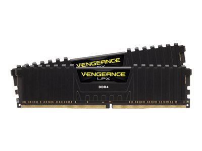 CORSAIR Vengeance DDR4  kit 3200MHz CL16  Ikke-ECC