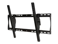 "Peerless SmartMount Universal Tilt Wall Mount ST650P - Kit de montage (support, plaque murale inclinable) pour Écran LCD - noir - Taille d'écran : 39""-75"" - Interface de montage : 700 x 400 mm - montable sur mur"