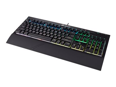 CORSAIR Gaming K68 RGB Mechanical Tastatur Mekanisk Rød Kabling Engelsk - USA