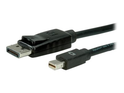 Roline - DisplayPort-Kabel - DisplayPort (M) bis Mini DisplayPort (M) - 2 m - Schwarz