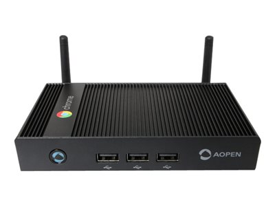 AOpen Chromebox Mini Mini PC 1 x Cortex-A17 RK3288C RAM 4 GB SSD eMMC 16 GB Mali-T764