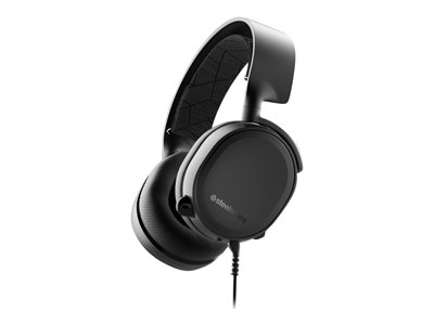 SteelSeries Arctis 3 Kabling Sort Headset