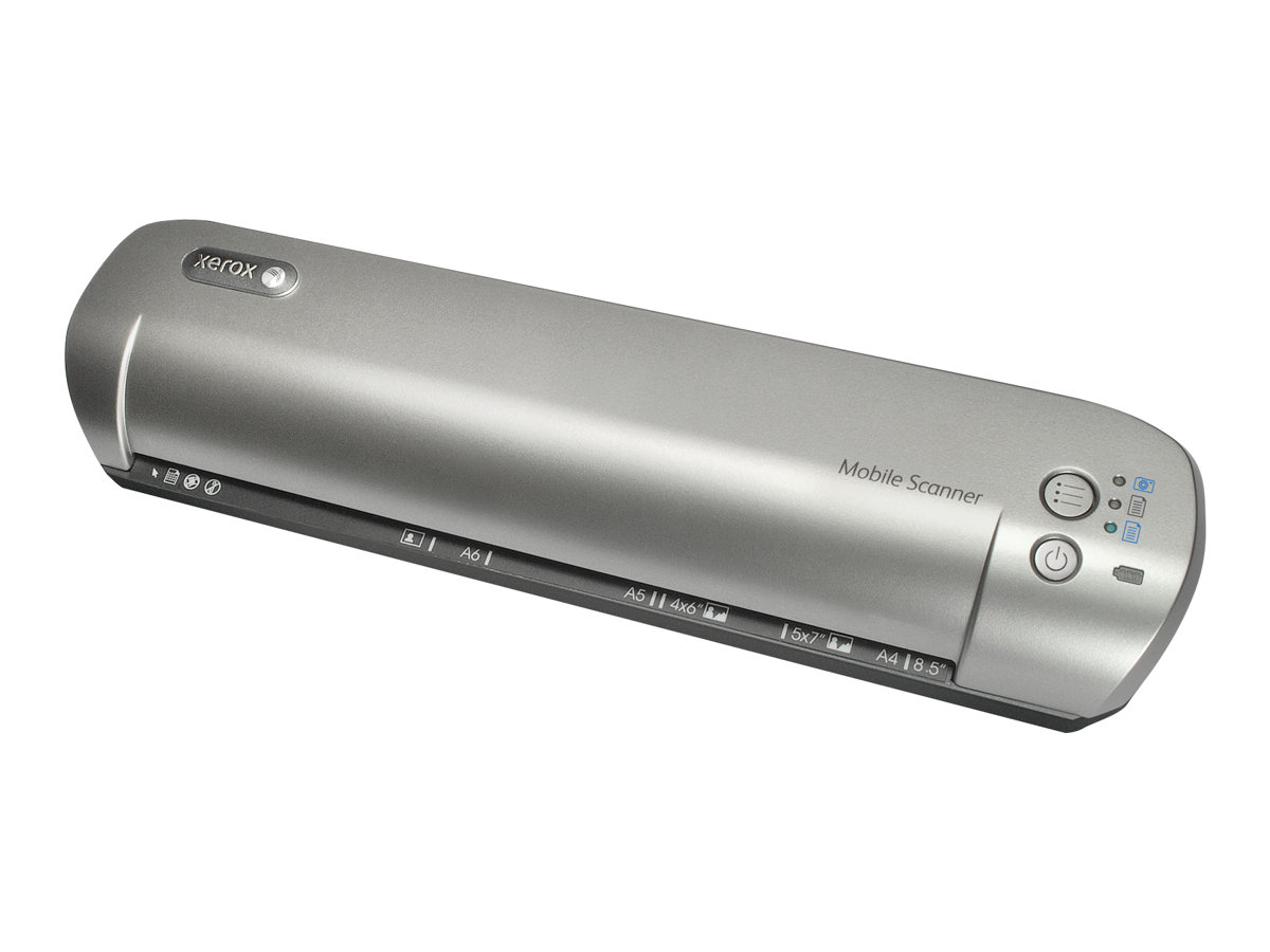 Xerox Mobile Scanner - sheetfed scanner - portable - USB 2.0, Wi-Fi(n)