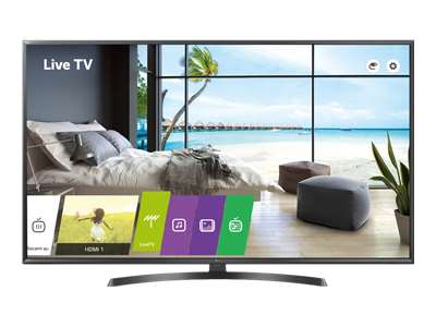 "LG 65UU661H - 65"" Class UU661H Series LED TV - hotel / hospitality - Pro:Centric with Integrated Pro:Idiom - Smart TV - webOS - 4K UHD (2160p) 3840 x 2160 - HDR - edge-lit"