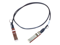 HPE - Network cable - SFP+ - 3.3 ft - for Enterprise Virtual Array P6350; ProLiant DL360e Gen8, DL980 G7; SimpliVity 380 Gen10