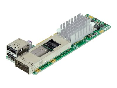 Supermicro - network adapter - PCIe 3.0 x8 - USB 2.0 x 2