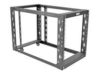 Tripp Lite 4-Post Open Frame Rack Cabinet Floor Standing 36INCH Depth Rack open frame 4-post