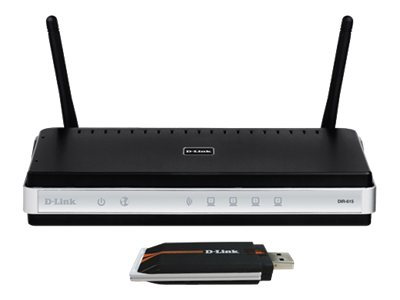 D-Link Wireless N DKT-408 Starter Kit wireless router 4-port switch 802.11b/g/n 2