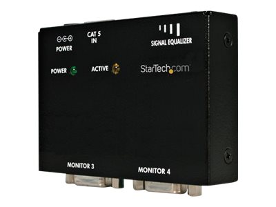 StarTech.com VGA over CAT5 Remote Receiver - VGA Receiver for Line of ST121 VGA Extenders - 500 ft. 150 m (ST121R) - vi…