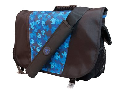 Mobile Edge Sumo 15.6INCH Messenger Bag Notebook carrying case 17.1INCH black/blue