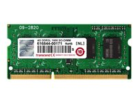 Transcend - DDR3L - 4 Go - SO DIMM 204 broches - 1600 MHz / PC3L-12800 - CL11 - 1.35 V - mémoire sans tampon - non ECC - pour Dell Inspiron 14 3421; HP ZBook 14, 15; Lenovo ThinkCentre M73; ThinkPad L540; T440; W540