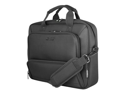 Urban Factory Mixee Toploading Laptop Bag 14.1INCH Black Notebook carrying case 14INCH black
