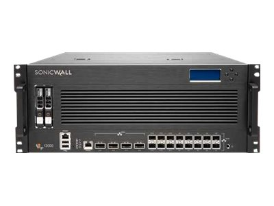SonicWall Network Security services platform 12400 Security appliance 10 GigE, 40 Gigabit LAN