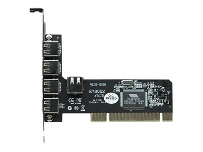 Manhattan - USB-Adapter - PCI - USB 2.0 x 4