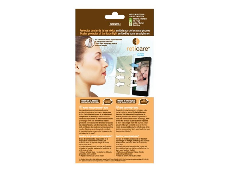 Reticare Intensive - screen protector for cellular phone